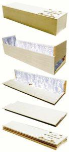 棺 平棺 折りたたみ式 布団付 直葬 家族葬 適