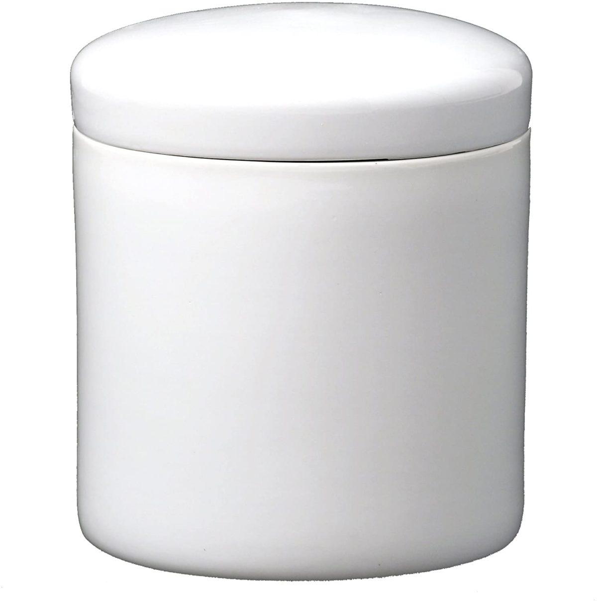 白切立 シンプルな白い骨壷(骨壺) 2.3寸